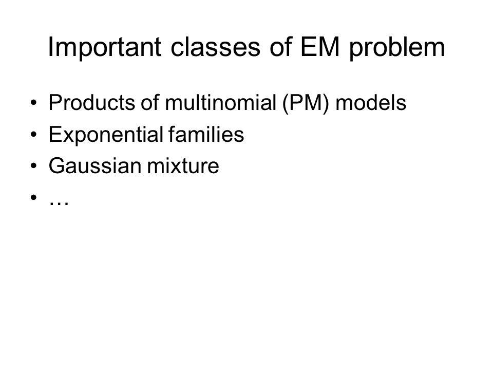 Summary EM falls into the general framework of maximum- likelihood estimation (MLE).