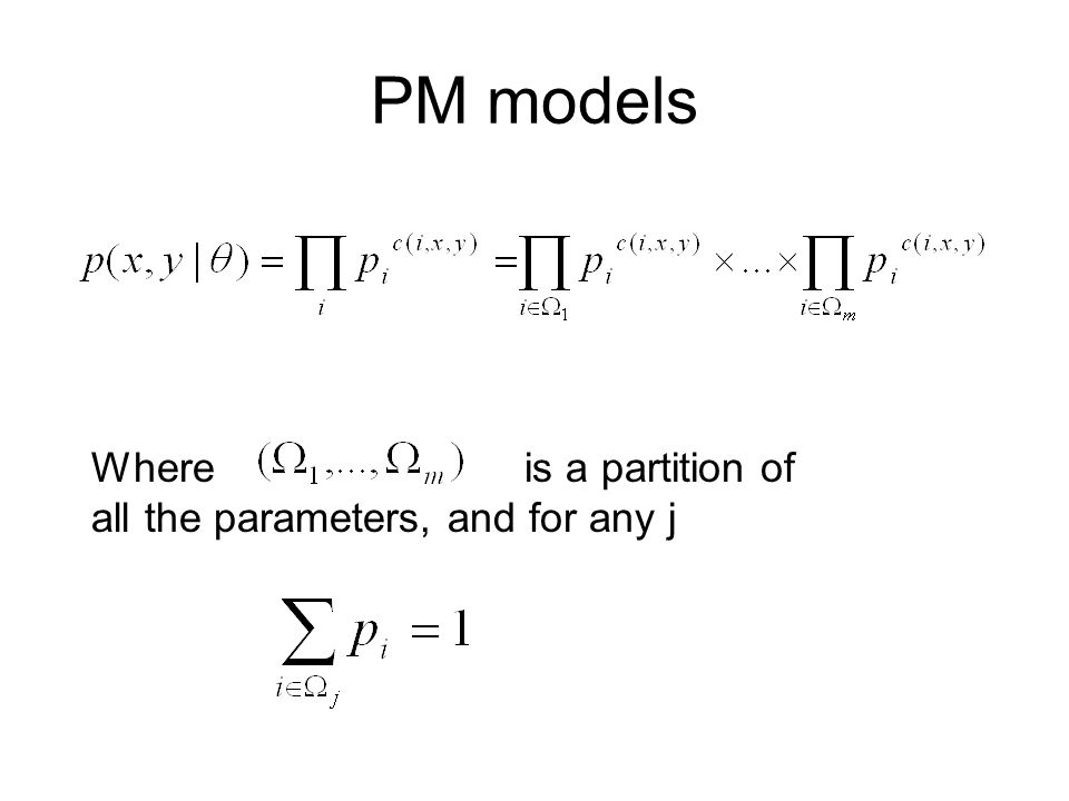 HMM is a PM