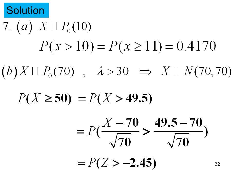 Solution 32
