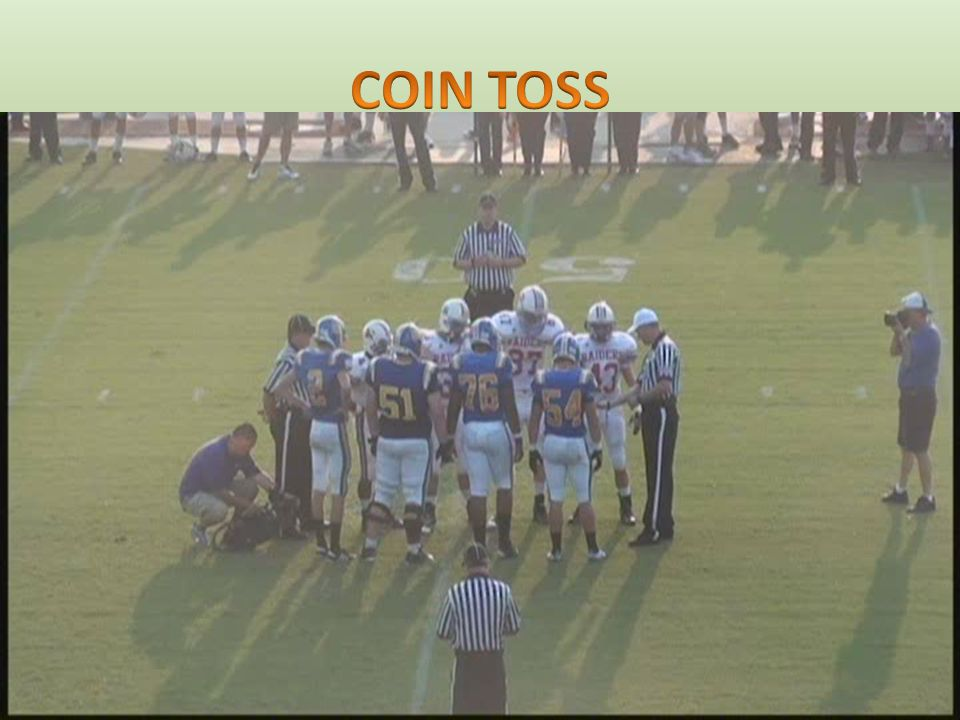 STARTING A HALF – KICKOFF – Normally at Team K's 40 yard line STARTING THE 2 ND AND 4 TH QUARTERS – Determined by last play of 1 st and 3 rd Quarters – Play continues except teams change goals.