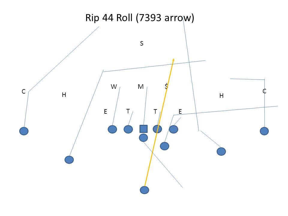 Rip 44 Roll (7393 arrow) T TEE MW S H C H C $