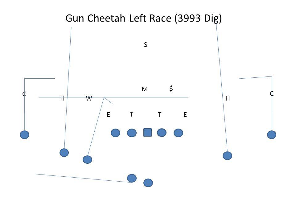 Gun Cheetah Left Race (3993 Dig) T TEE M W S H C H C $