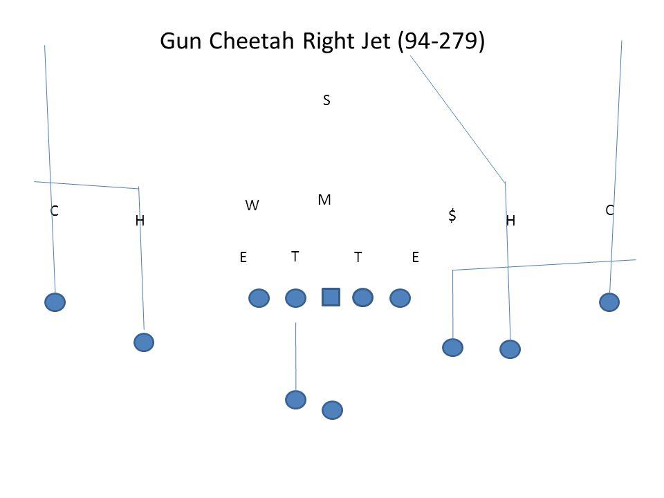 Gun Cheetah Right Jet (94-279) T TEE M W S H C H C $