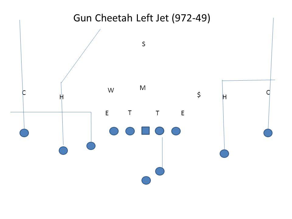 Gun Cheetah Left Jet (972-49) T TEE M W S H C H C $