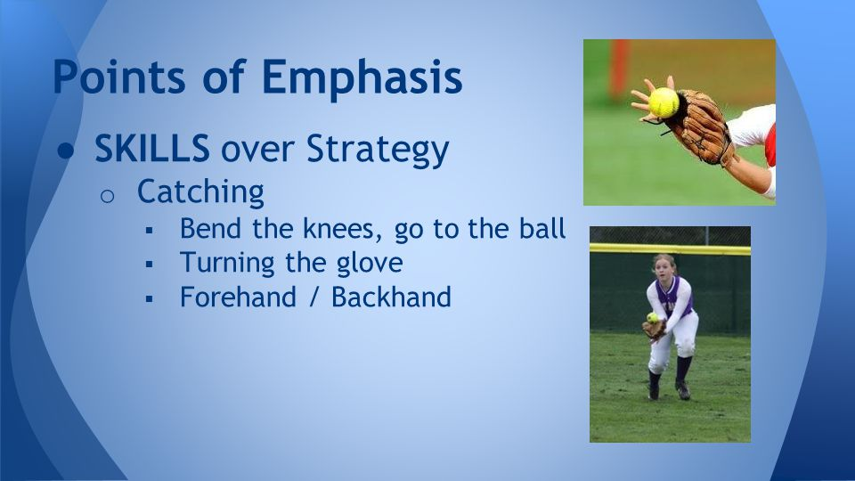 ● SKILLS over Strategy o Hitting - Free & Easy.