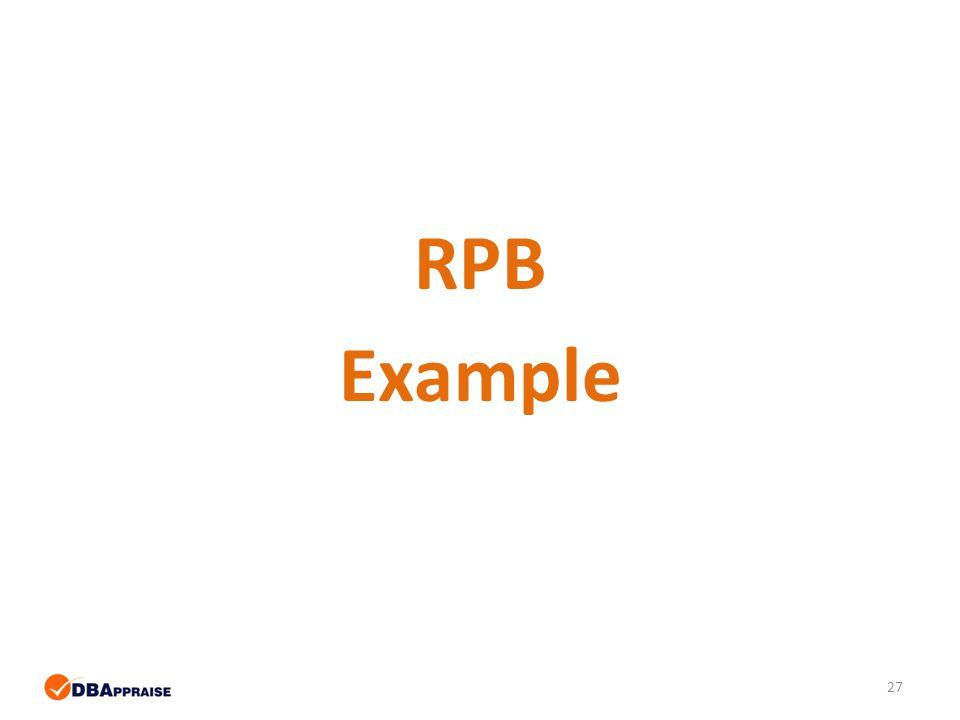 27 RPB Example
