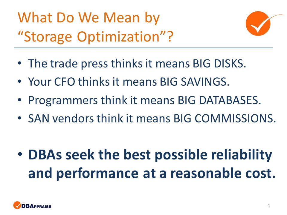 5 The Foundation of OpenEdge Storage Optimization