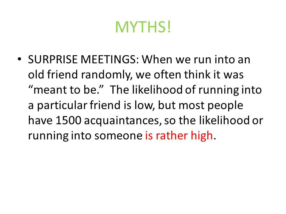 MYTHS.