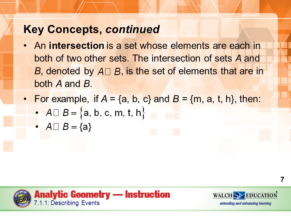 Key Concepts, continued An experiment is any process or action that has observable results.