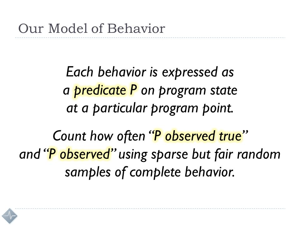 Our Model of Behavior