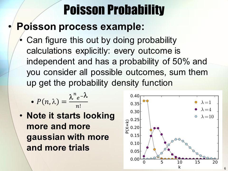 Poisson Probability 6