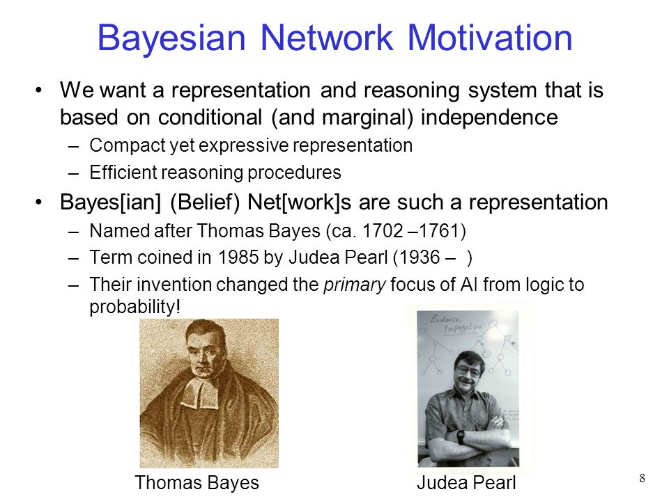 Bayesian Networks: Intuition A graphical representation for a joint probability distribution –Nodes are random variables –Directed edges between nodes reflect dependence Some informal examples: 9 Understood Material Assignment Grade Exam Grade Alarm Smoking At Sensor Fire Pos 0 Pos 1 Pos 2 Robot: