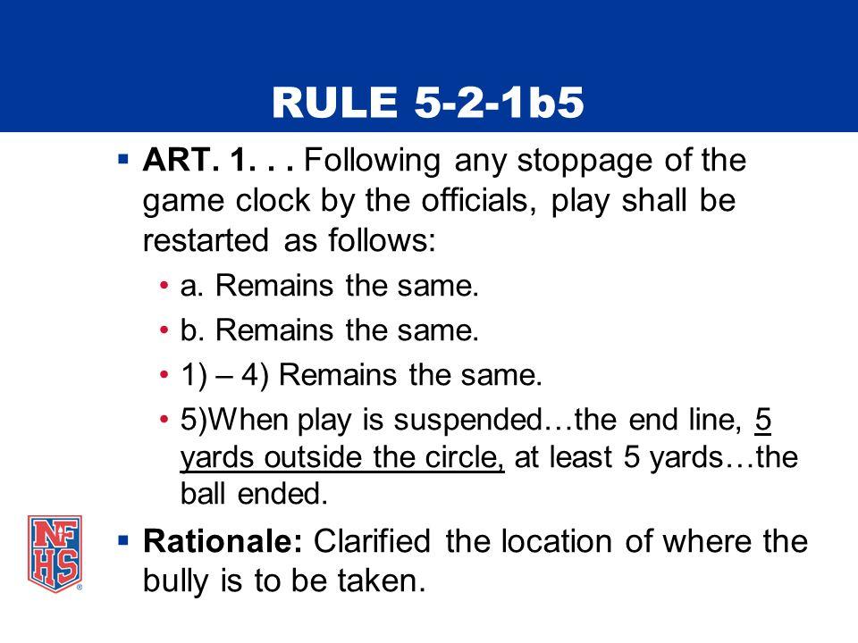 RULE 5-2-1b5  ART. 1...