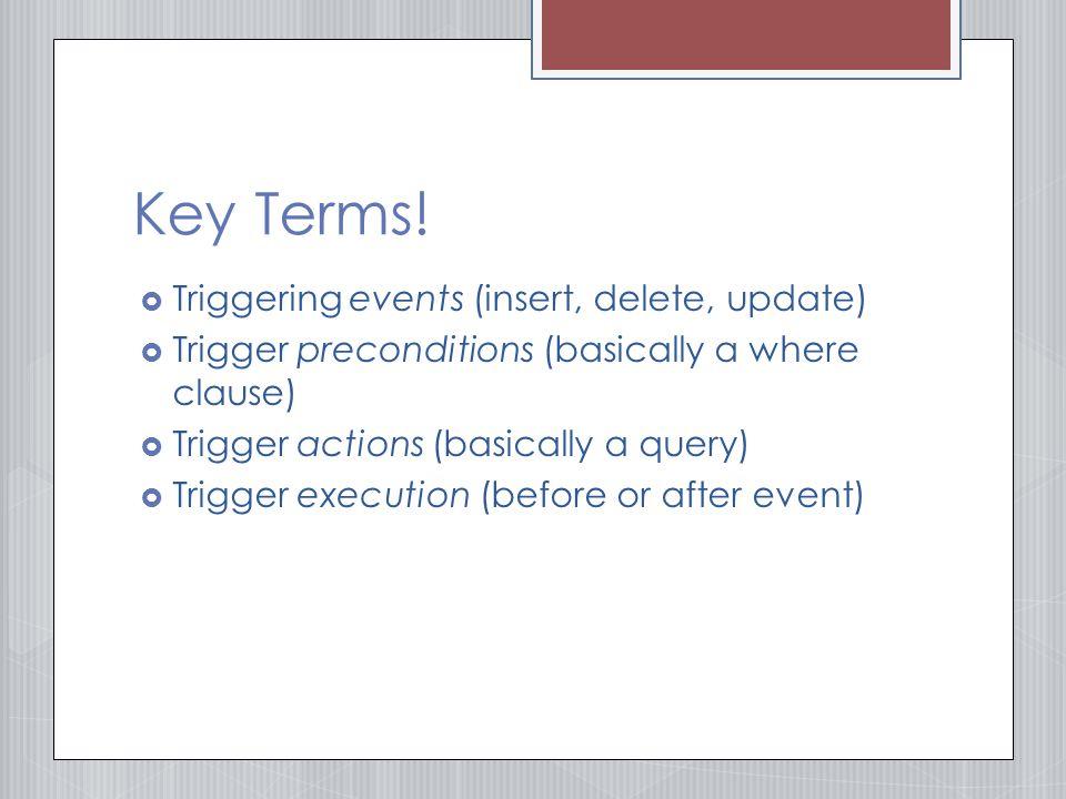 Key Terms.