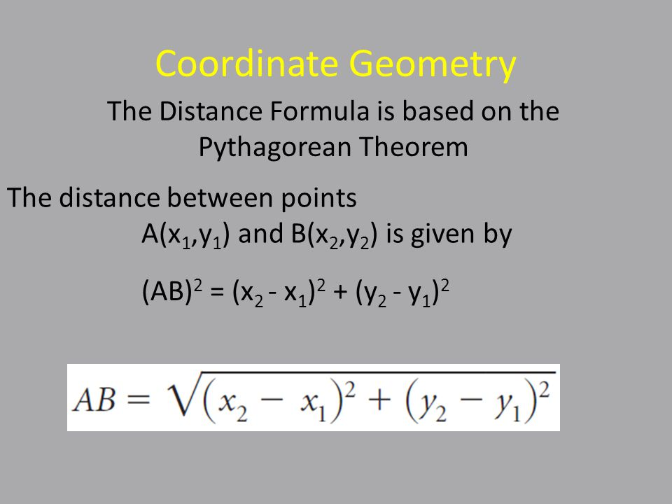 Coordinate Geometry - Example