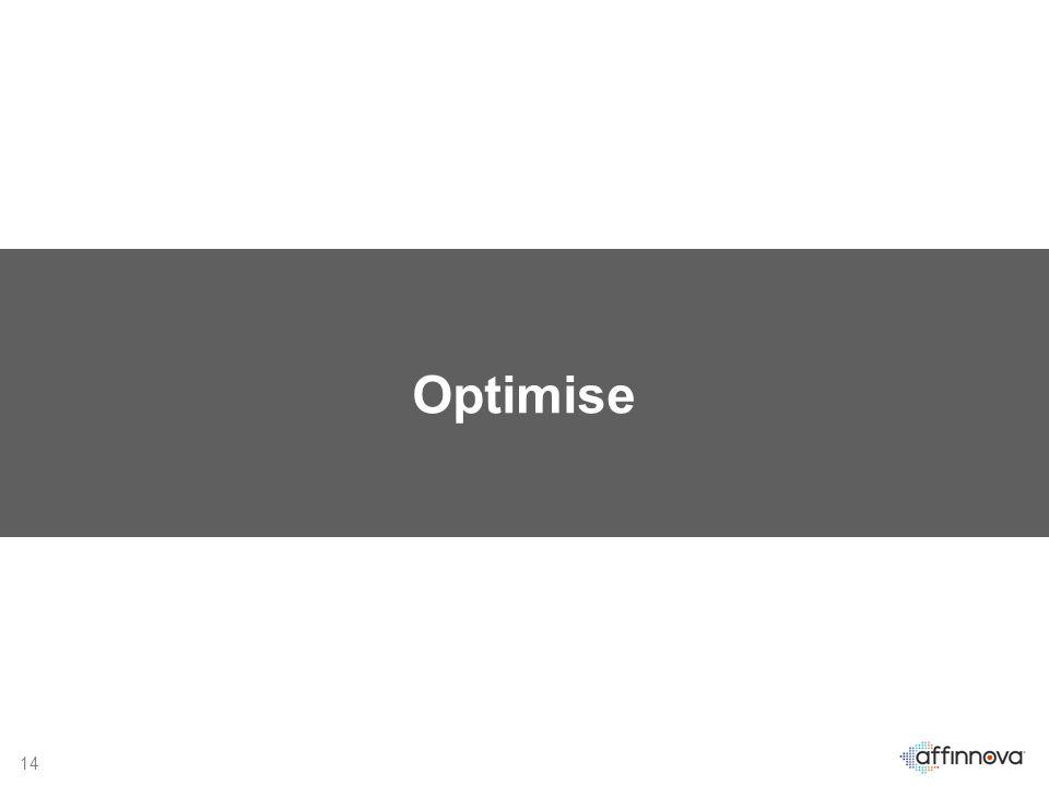 14 Optimise