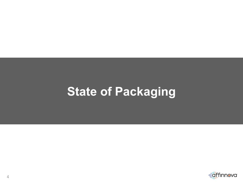 4 State of Packaging