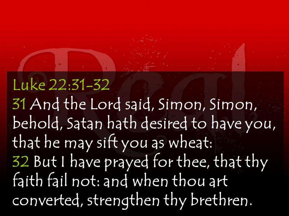satan desired to have Peter