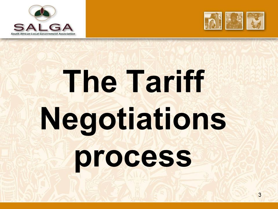 3 The Tariff Negotiations process