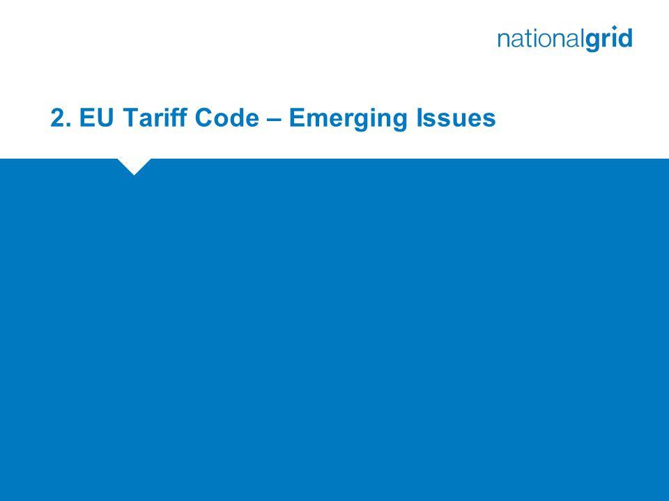 2. EU Tariff Code – Emerging Issues