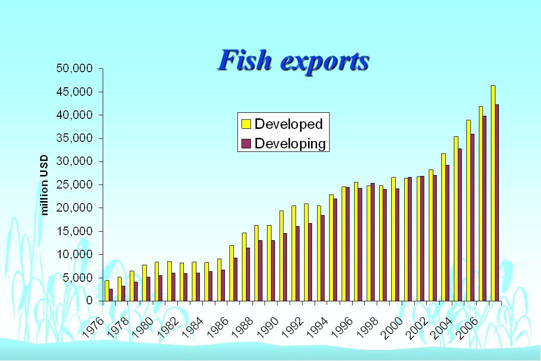 Fish exports