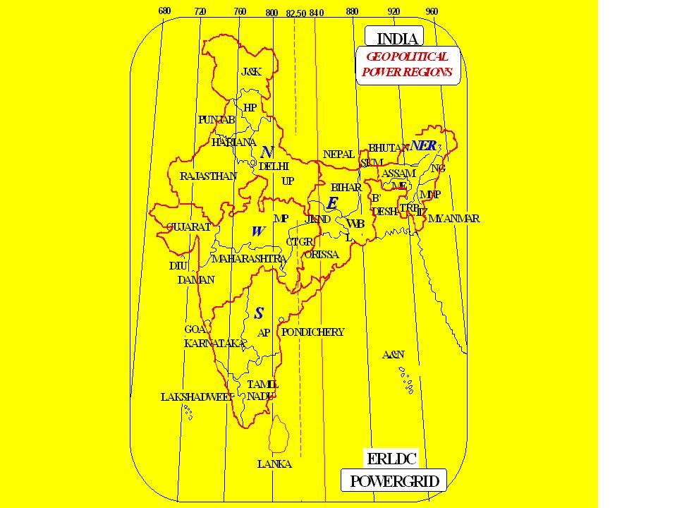 ASSAM BANGLADESH NEPAL MADHYA PRADESH UTTAR PRADESH POWERGRID ERLDC BHUTAN ANDHRA PRADESH BAY OF BENGAL BHUBANESWAR CALCUTTA PATNA GANGTOK NOT TO SCALE LEGEND < 25 MW 25-50 MW 50-100 MW >100 MW EASTERN REGIONAL LOAD DESPATCH CENTRE 14, GOLF CLUB ROAD, TOLLYGUNGE,CLACUTTA-700 033 ASSAM BANGLADESH NEPAL MADHYA PRADESH UTTAR PRADESH POWERGRID ERLDC BHUTAN ANDHRA PRADESH BAY OF BENGAL BHUBANESWAR CALCUTTA PATNA GANGTOK NOT TO SCALE LEGEND < 25 MW 25-50 MW 50-100 MW >100 MW LEGEND < 25 MW 25-50 MW 50-100 MW >100 MW EASTERN REGIONAL LOAD DESPATCH CENTRE 14, GOLF CLUB ROAD, TOLLYGUNGE,CLACUTTA-700 033