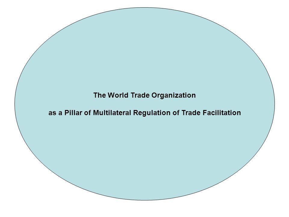 The World Trade Organization as a Pillar of Multilateral Regulation of Trade Facilitation