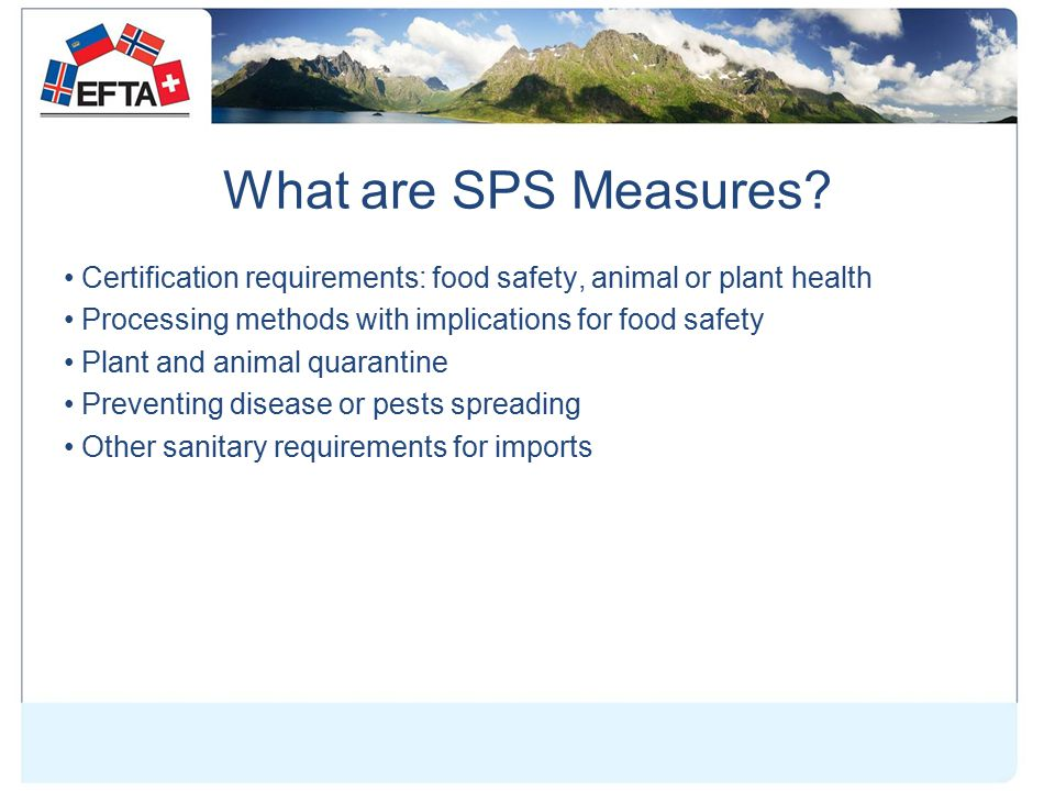 What are SPS Measures.
