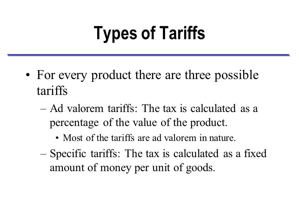 Welfare Effects in the Import Market Change in Consumer welfare: a+b+c Change in Producer welfare: -a Net welfare change: b+c