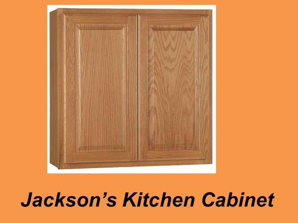 Jackson's Kitchen Cabinet