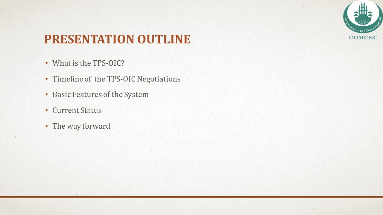 THE WAY FORWARD The TNC Secretariat will ask the relevant participating states to revise parts of their concessions lists that do not comply with the sample format (i.e.