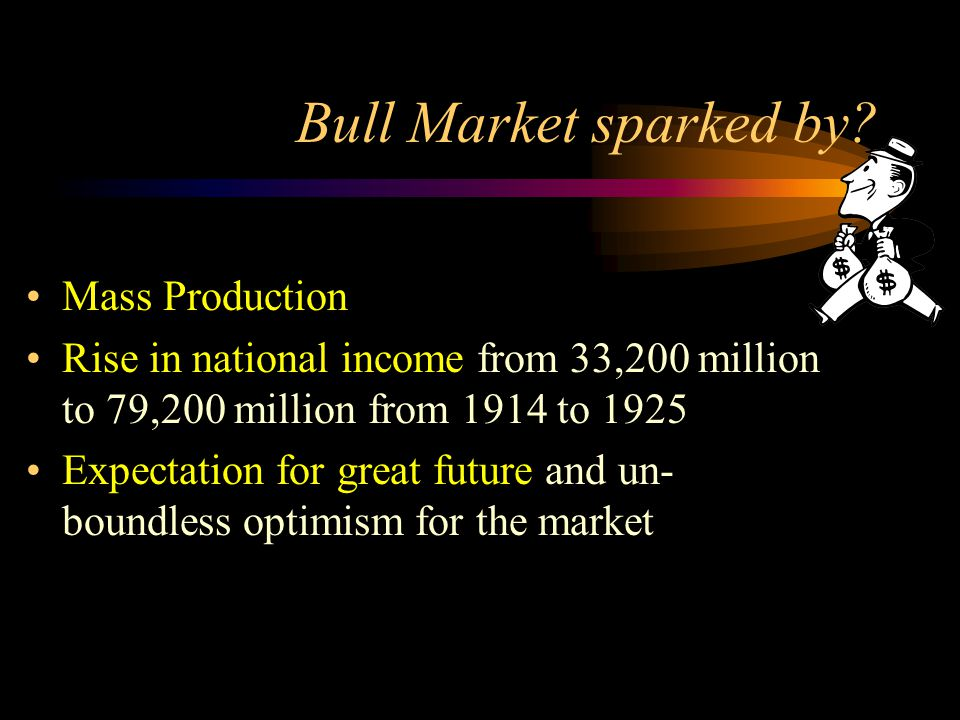 Bull Market sparked by.