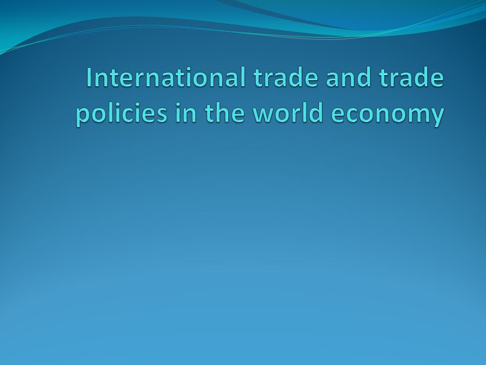 Effects of trade policy in general Import protection as well as export promotion distort production and consumption decisions; therefore, they are generally welfare reducing.