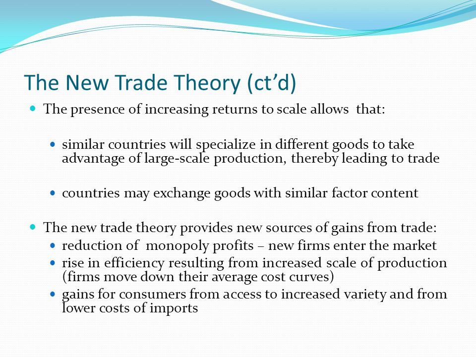 Basic Tariff Analysis Useful definitions: The terms of trade is the relative price of the exportable good expressed in units of the importable good.