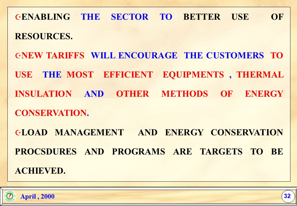 31 Z THE NEW RESTRUCTURING WAS A MUST. Z BRIGHT FUTURE AND VISION FOR THE SECTOR.