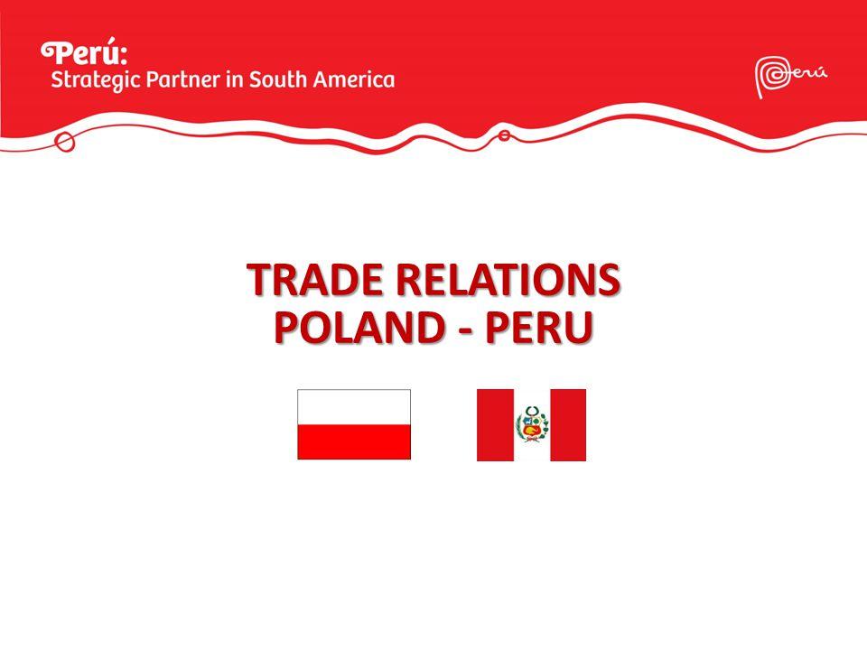 TRADE RELATIONS POLAND - PERU