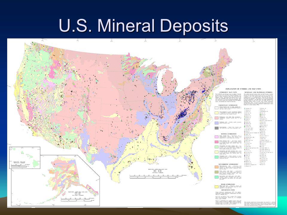 U.S. Mineral Deposits