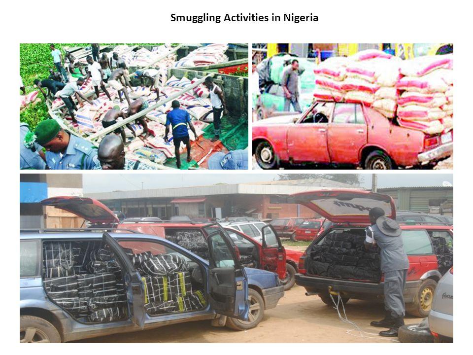 Smuggling Activities in Nigeria