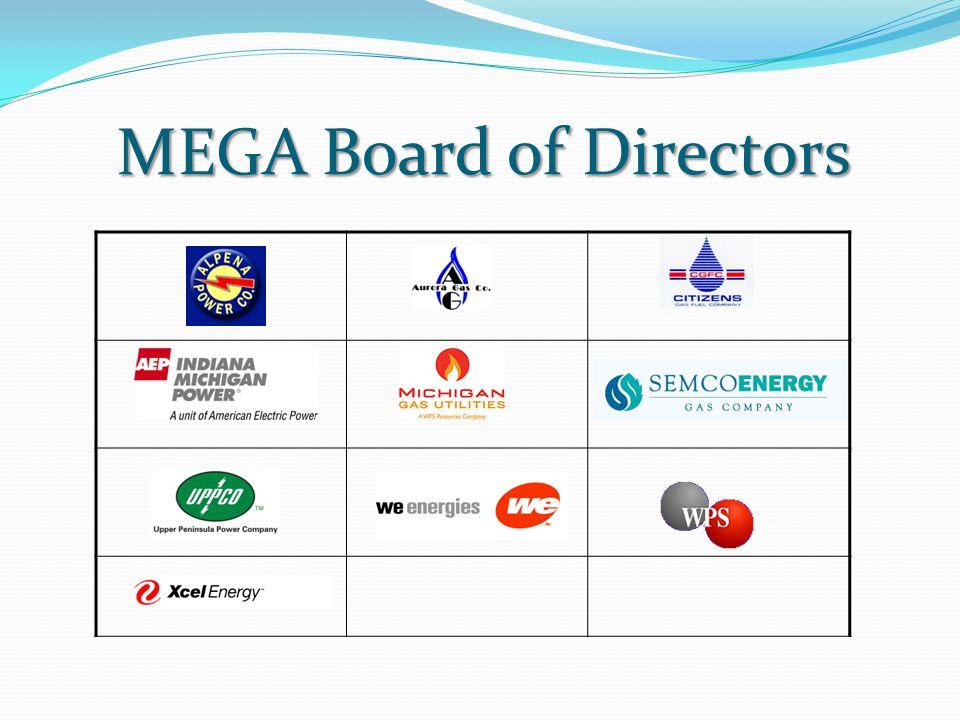 MEGA Board of Directors