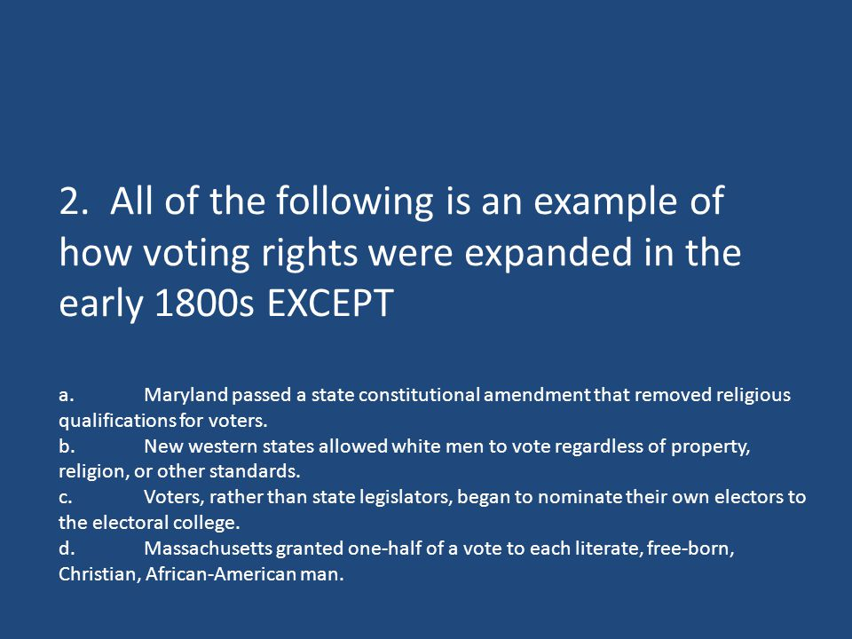 b.That the United States is one nation, not a pact of independent states and that the welfare of the nation should override that of individual states