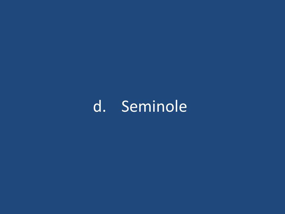 d.Seminole