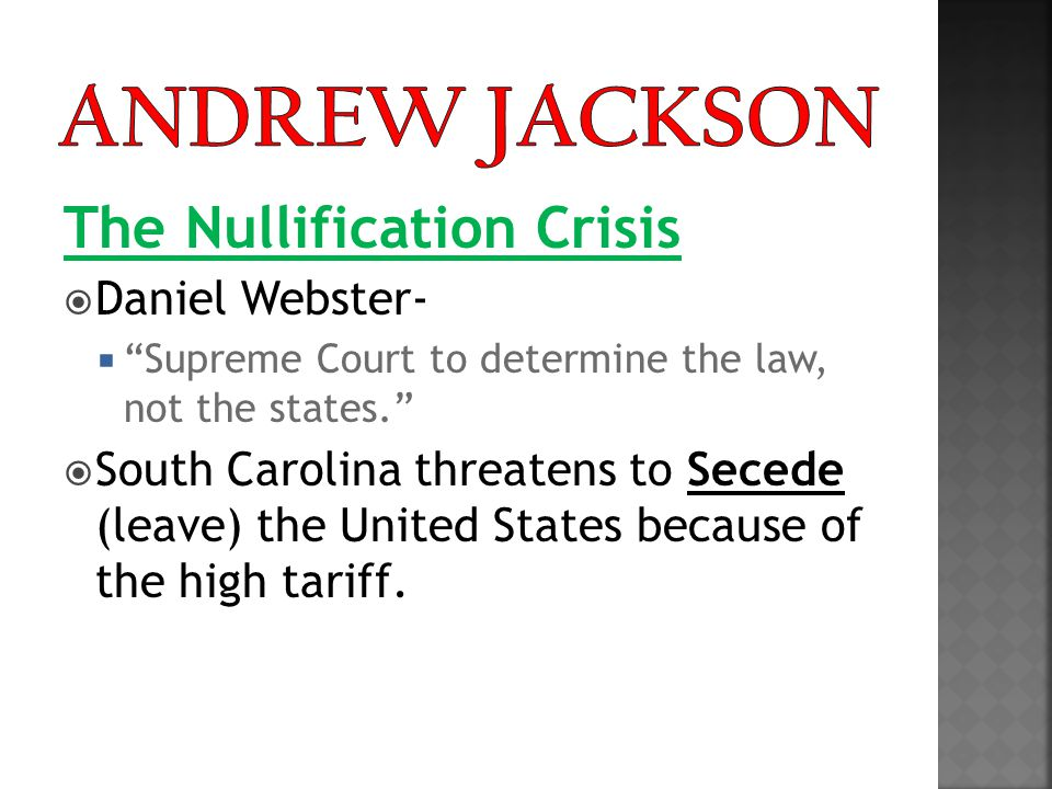 30 Second Think : Do you support South Carolina's right to leave the country over the Tariff.