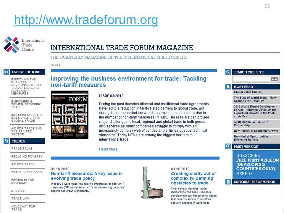http://www.tradeforum.org 35