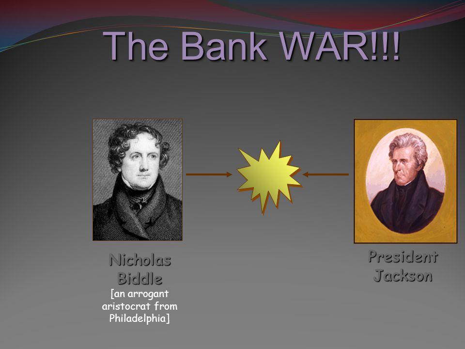 The Bank WAR!!.