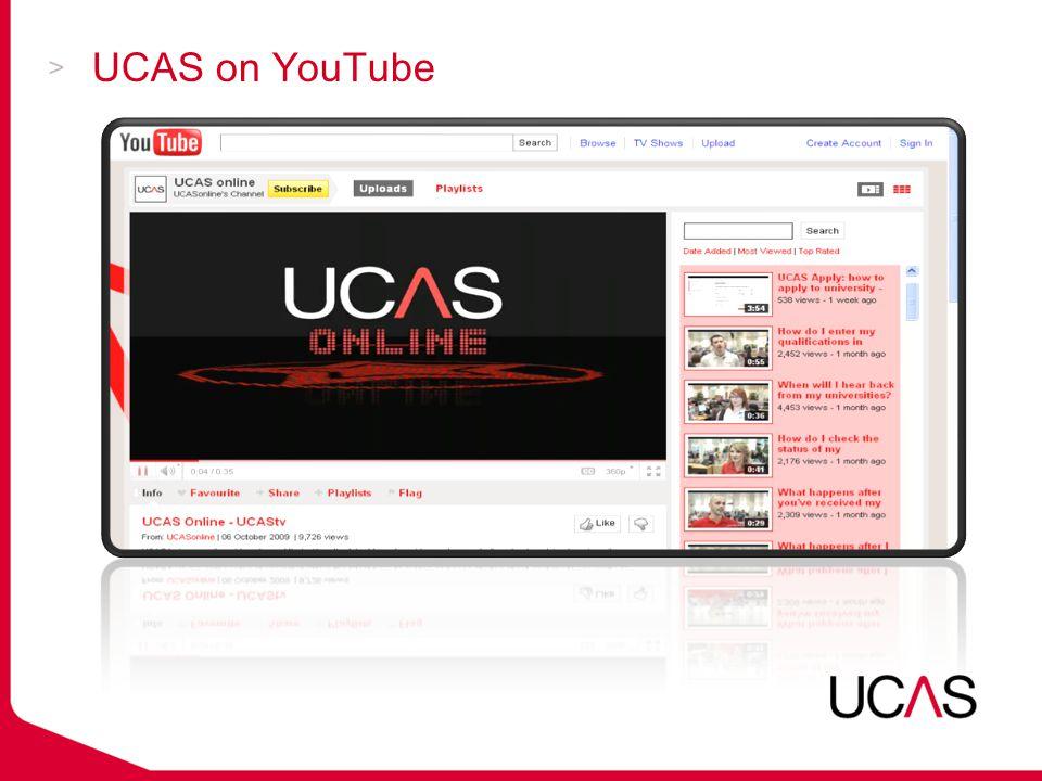 UCAS on YouTube