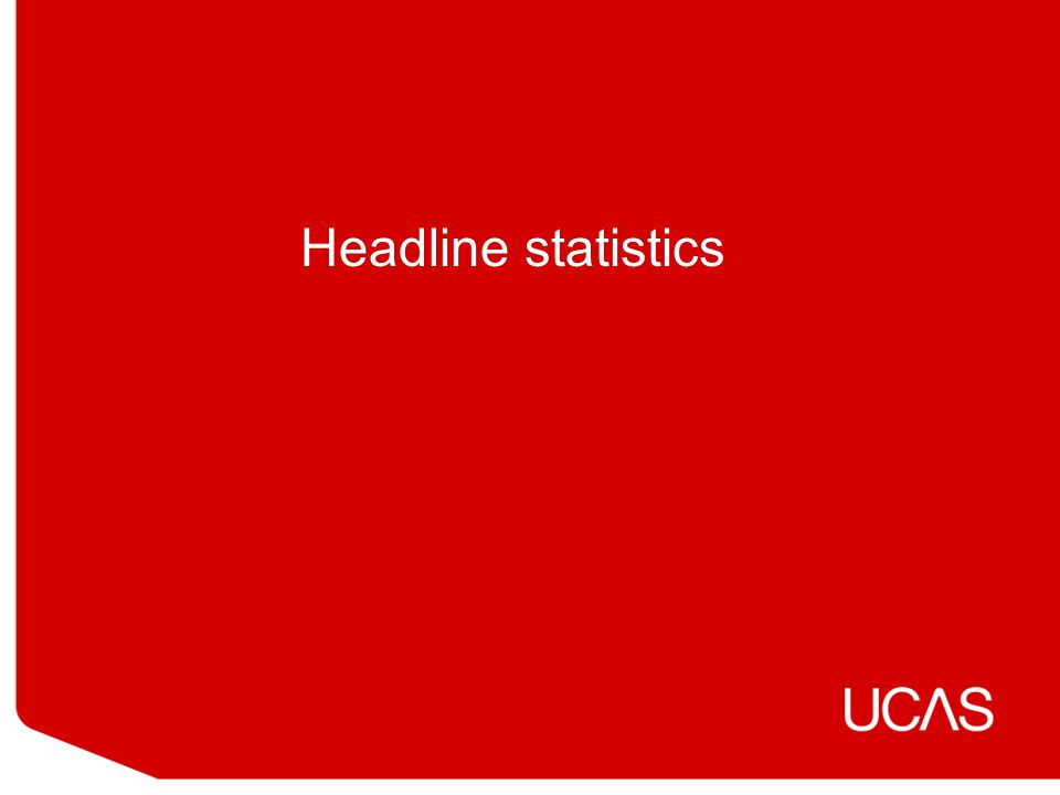 Headline statistics
