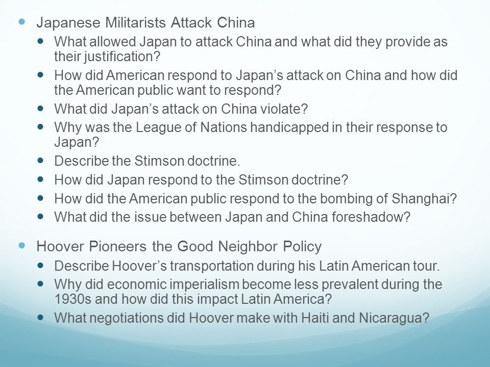 Japanese Militarists Attack China What allowed Japan to attack China and what did they provide as their justification.