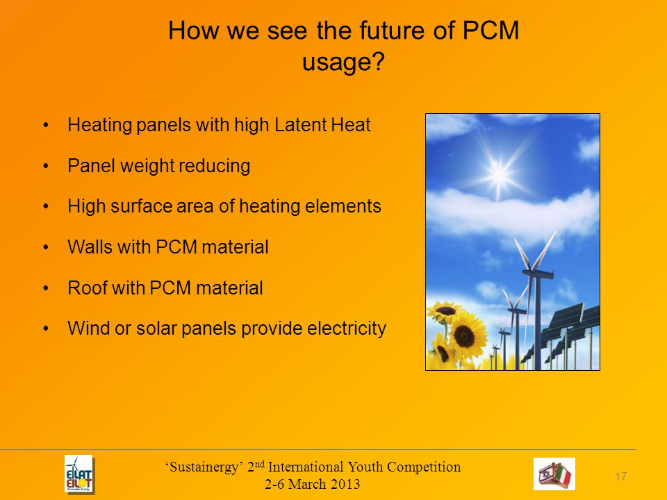 How we see the future of PCM usage.