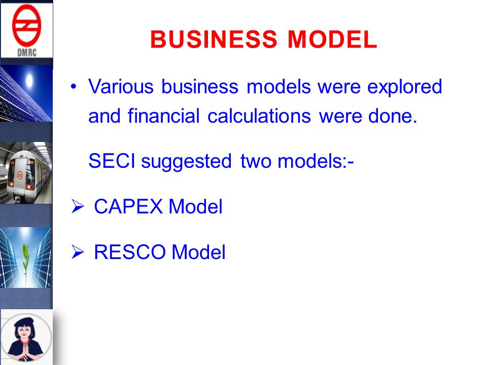 Various business models were explored and financial calculations were done.