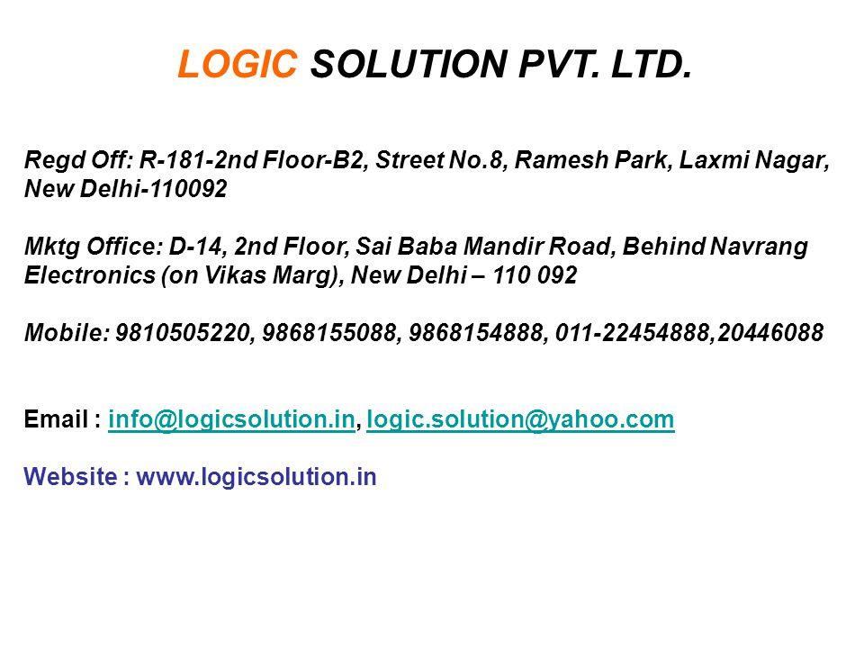 LOGIC SOLUTION PVT. LTD.